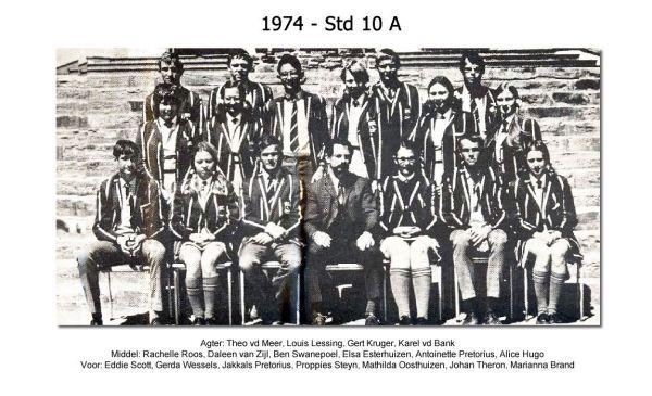 1974 - Std 10 A