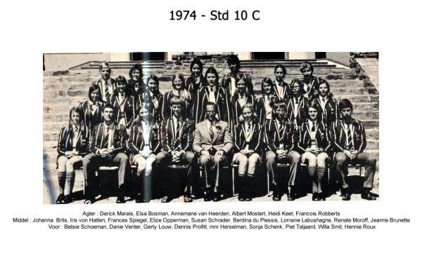 1974 - Std 10 C